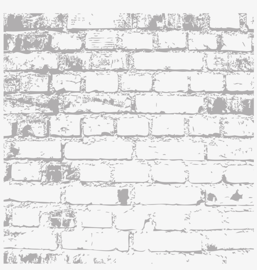 Appealing Brick Wall Black And White Photos - Brick Wall Texture Png, transparent png #2409269