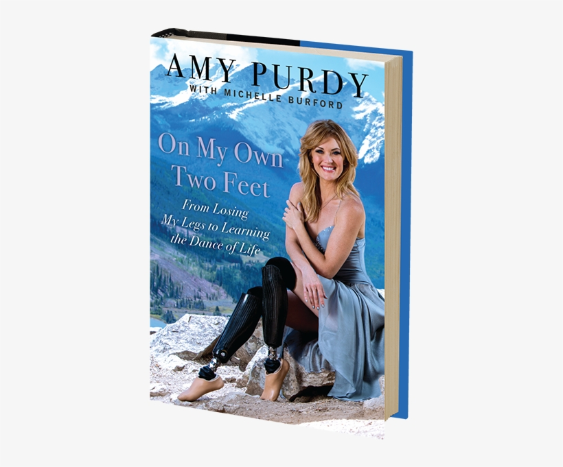 Amy Purdy, Who Inspired A Nation On Dancing With The - Amy Purdy Book, transparent png #2409513