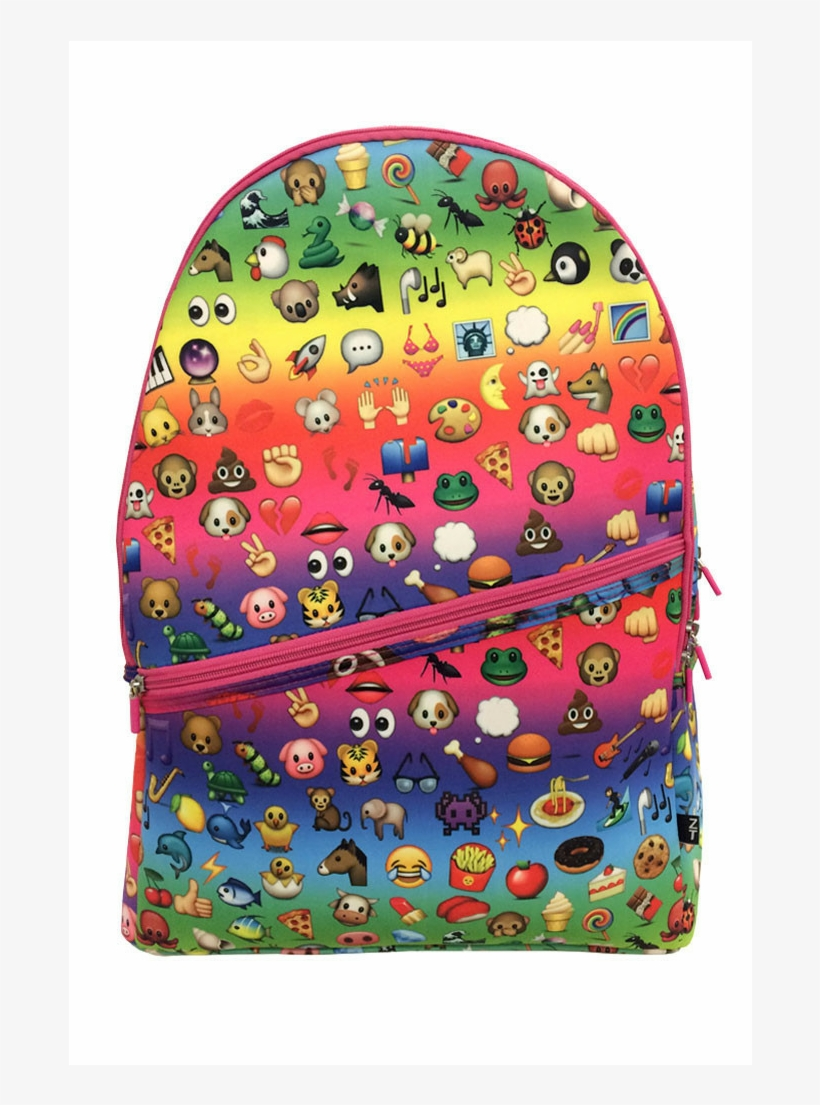 Image May Contain Shoes Source - School Bags For Girls Emoji, transparent png #2410906