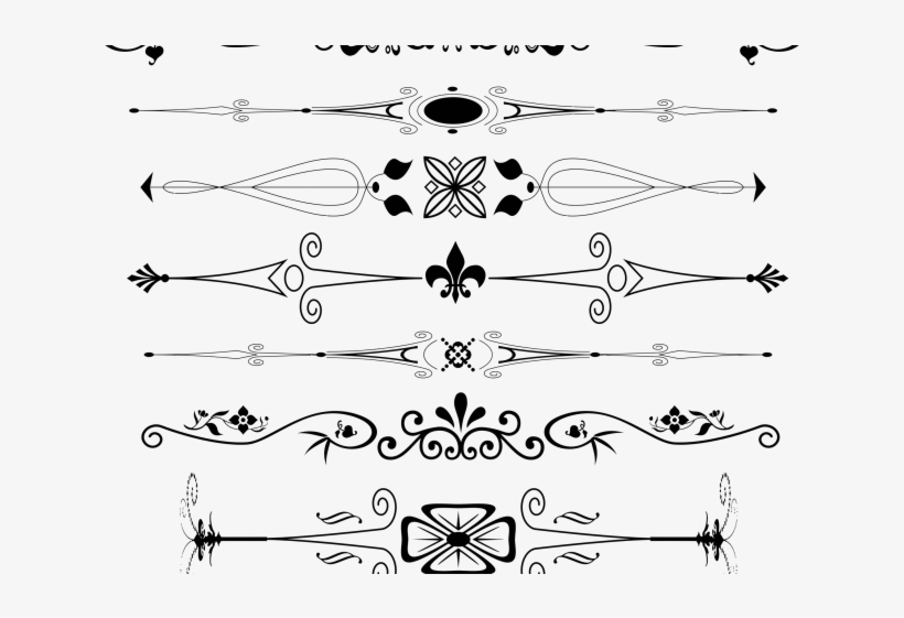 Love Text Clipart Divider - Embosser By Three Designing Women Emb3009, transparent png #2413966