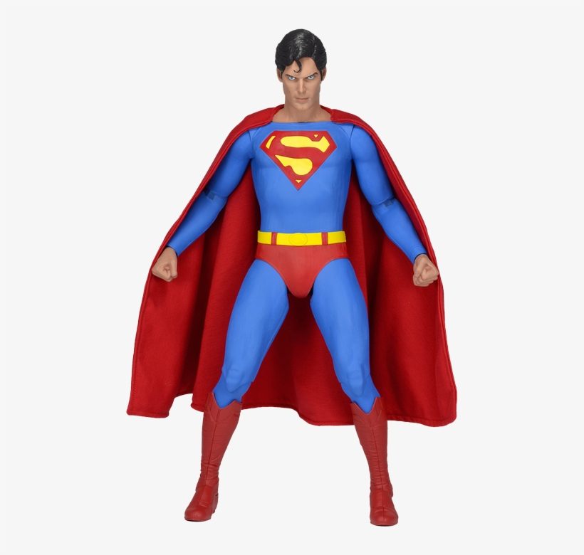 Christopher Reeve - Neca 1/4 Scale Figure Superman (reeve) Action Figure, transparent png #2414307