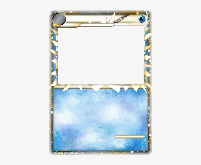 Image Result For Pokemon Card Template - Legendary Pokemon Card Template, transparent png #2416783