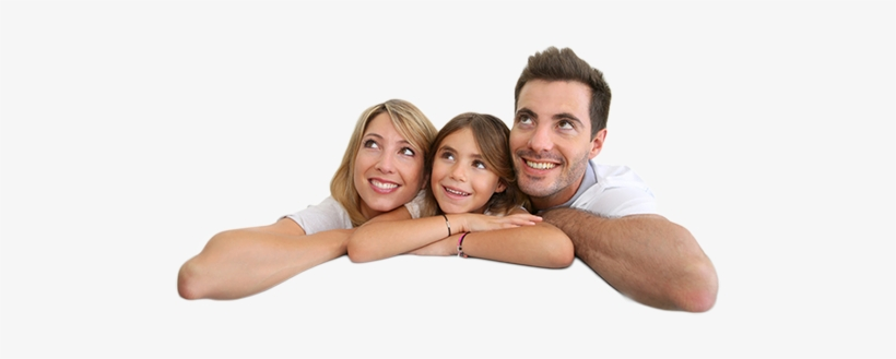 Family Looking Up - Family Looking Up Transparent, transparent png #2418373