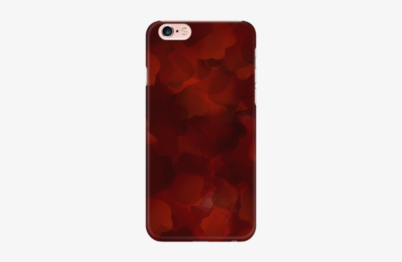 Red And Black Watercolor Phone Case - Mobile Phone Case, transparent png #2422259