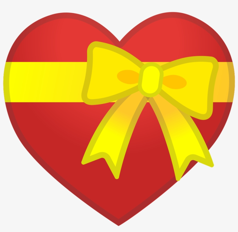 Download Svg Download Png - Emoji Corazon Con Lazo - Free