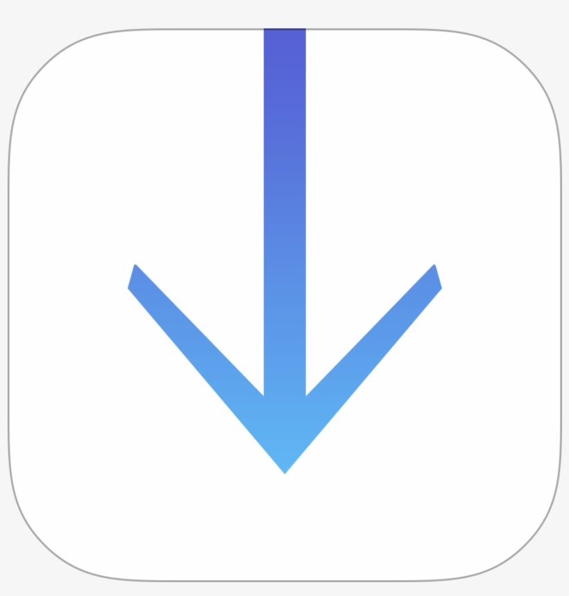 Downloads Icon Png Image - Downloads Ios Icon Png, transparent png #2424179