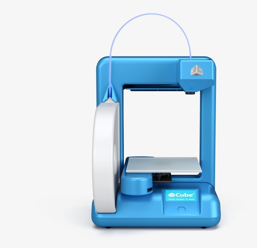 Office Depot Announces First Plans To Sell The Cube - 3d Systems Cube 2 Wireless 3d Printer, transparent png #2424574