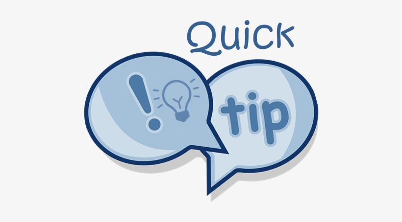 Quick Excel Tip - Quick Tip@pngkey.com
