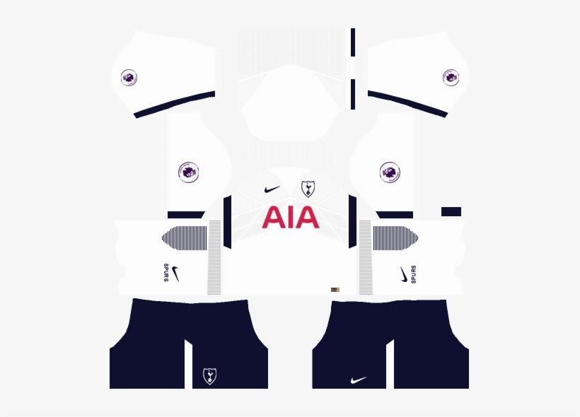 online store 2c02e 417ef Tottenham Home Kit Dream League Soccer - Dream League Kit ...