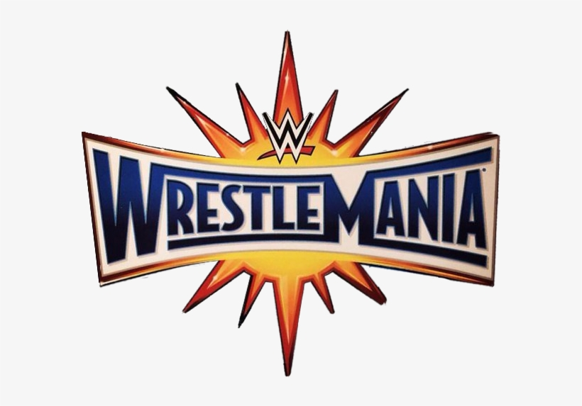 Iv65co0 - Wwe Wrestlemania 2017 Logo, transparent png #2434186