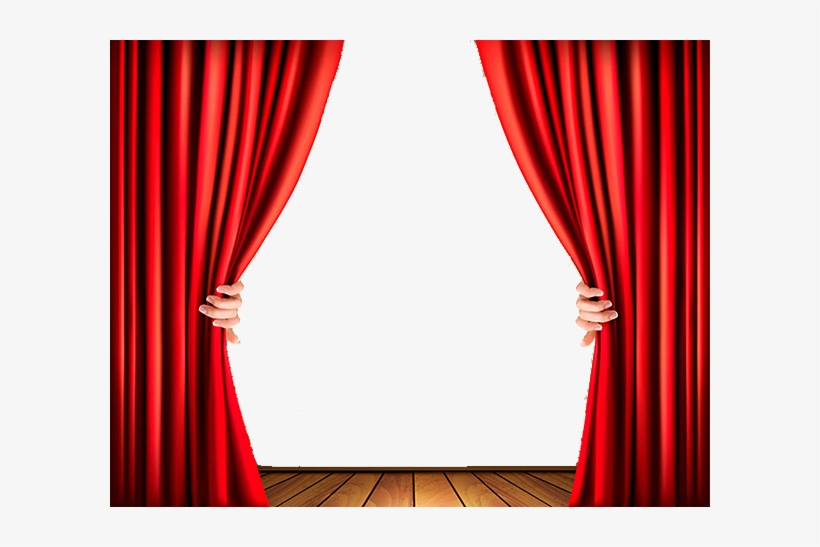 Curtain Clipart Movie Theater Candy Stage Curtains No Background Free Transparent Png Download Pngkey