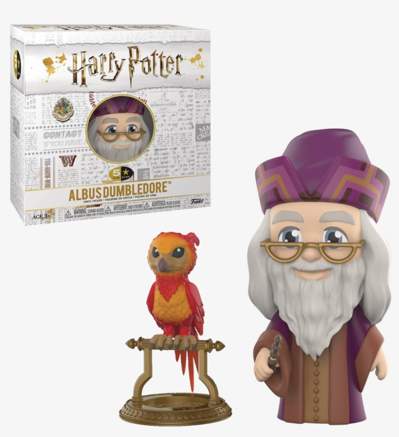 Funko 5 Star Harry Potter Dumbledore Vinyl Figure Mushyhead - Dumbledore 5 Star, transparent png #2436066