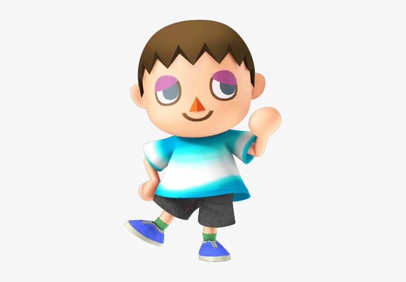 Super Smash Bros - Animal Crossing Villager Boy, transparent png #2437169
