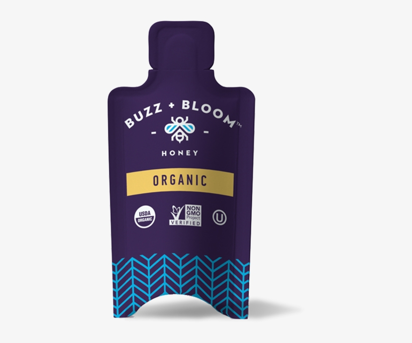 Perfect As An On The Go Natural Sweetener For Tea/coffee, - Buzz + Bloom Honey - 12 Oz, transparent png #2439613