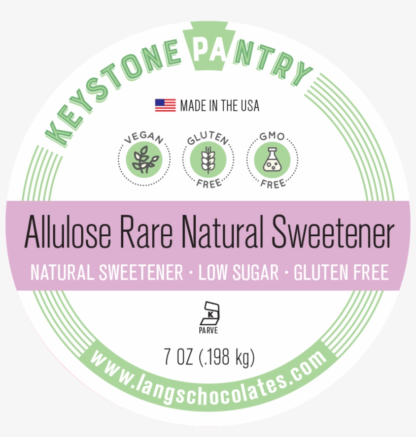 Keystone Pantry Non-gmo Allulose Natural Rare Sugar - Keystone Pantry Organic Agave Syrup 8 Fl Oz Bottle, transparent png #2440004