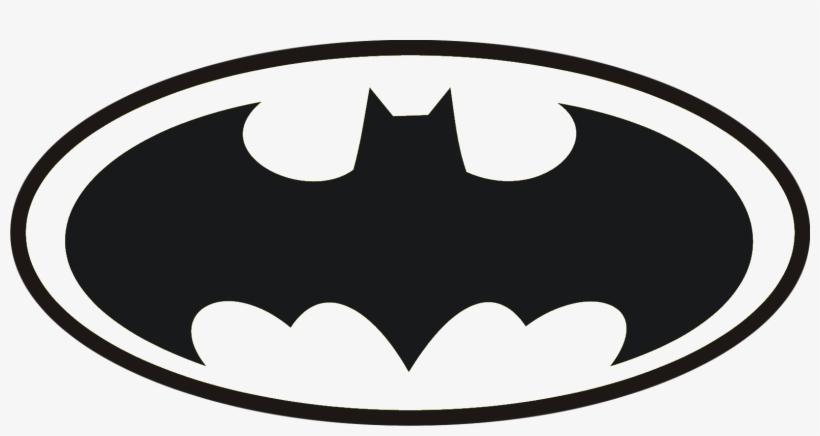 Batman Logo Png Black Transparent Background Hd Print - Batman Symbol Dark Night, transparent png #2442023