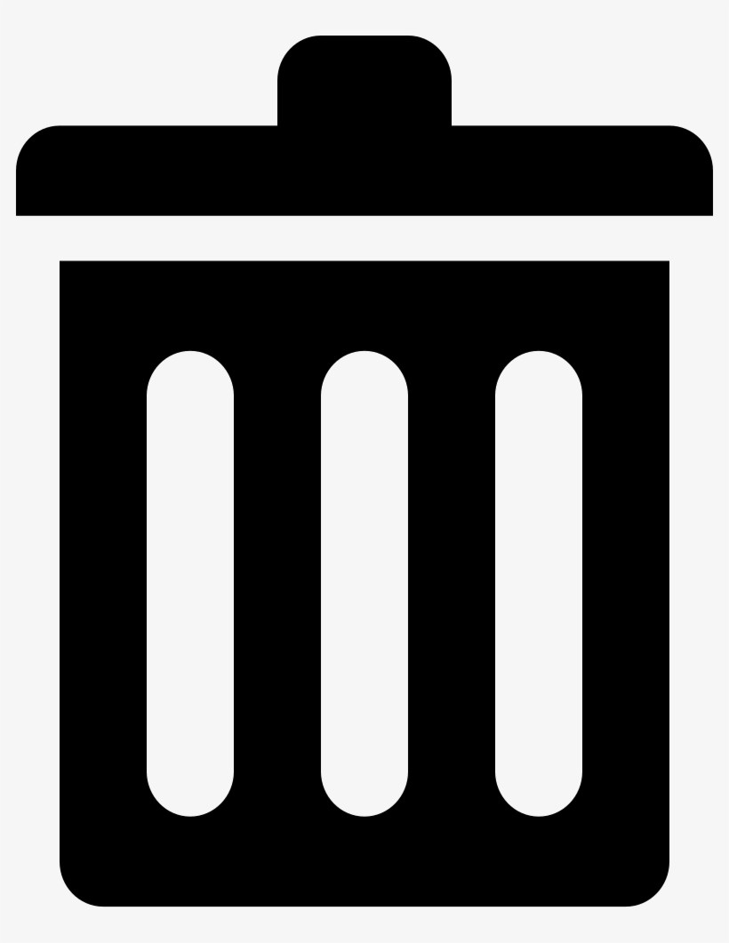 Png File - Garbage Can Svg, transparent png #2442315