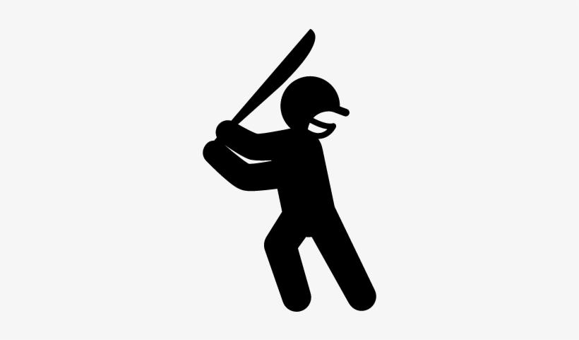 Cricket Player Vector Fussballspieler Silhouette Free