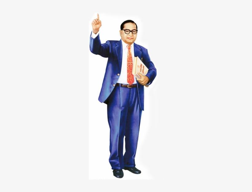 Bhimrao Ambedkar Was Born On 14th April, 1891 In Mahu - Dr Babasaheb Ambedkar Standing, transparent png #2443417