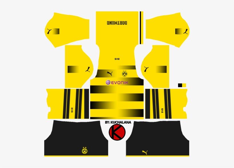 purchase cheap cf271 59be6 Borussia Dortmund Kits 2017/2018 - Kits Para Dream League ...