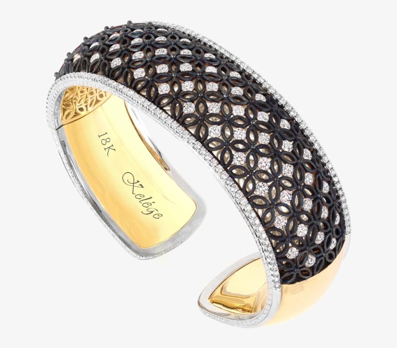 Kgb 106bk 18k Gold Bracelet - Flag, transparent png #2444523