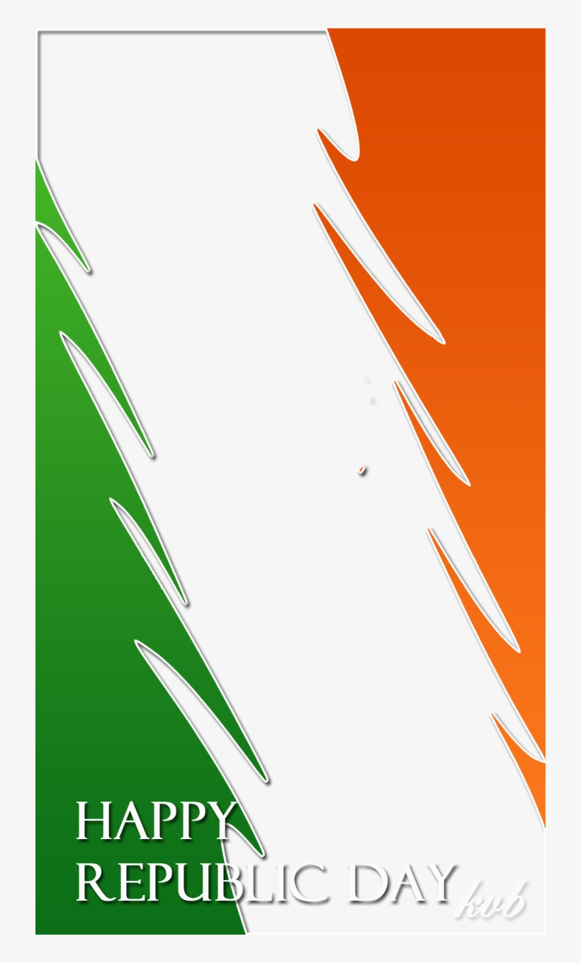 Indian Tricolor Frame Freeproducts Happy Republic Day