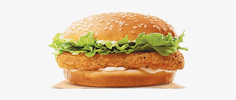 Our New Chicken Burger Is A Mighty Tasty Chicken Patty - King Chicken Burger King, transparent png #2445599