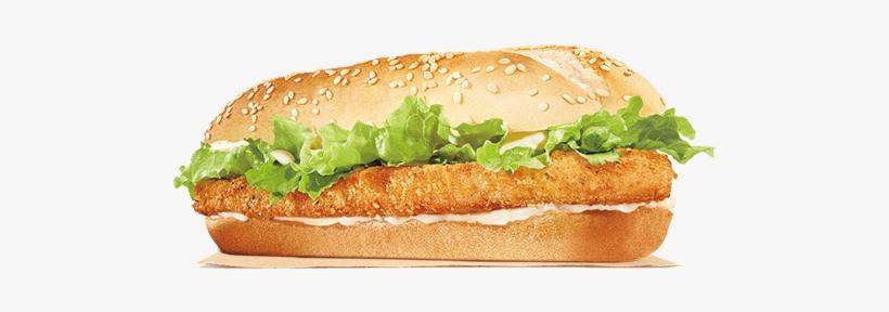 Original Chicken Sandwich - Burger King King Chicken Fillet, transparent png #2445635