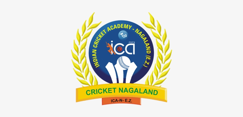 Indian Cricket Academy, Ica - Nagaland Cricket Association Logo, transparent png #2446074