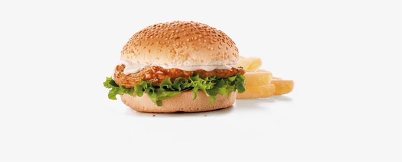 Chicken-burger Food Arrow Element - Chicken Sandwich, transparent png #2446338