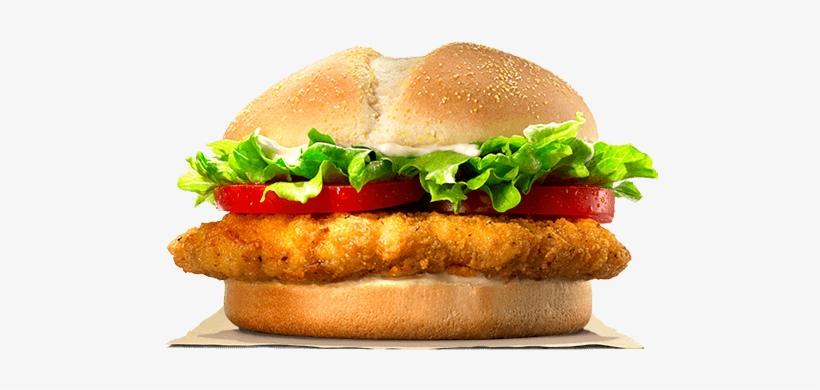 Tendercrisp® Chicken Sandwich - Tendercrisp Burger King, transparent png #2446342