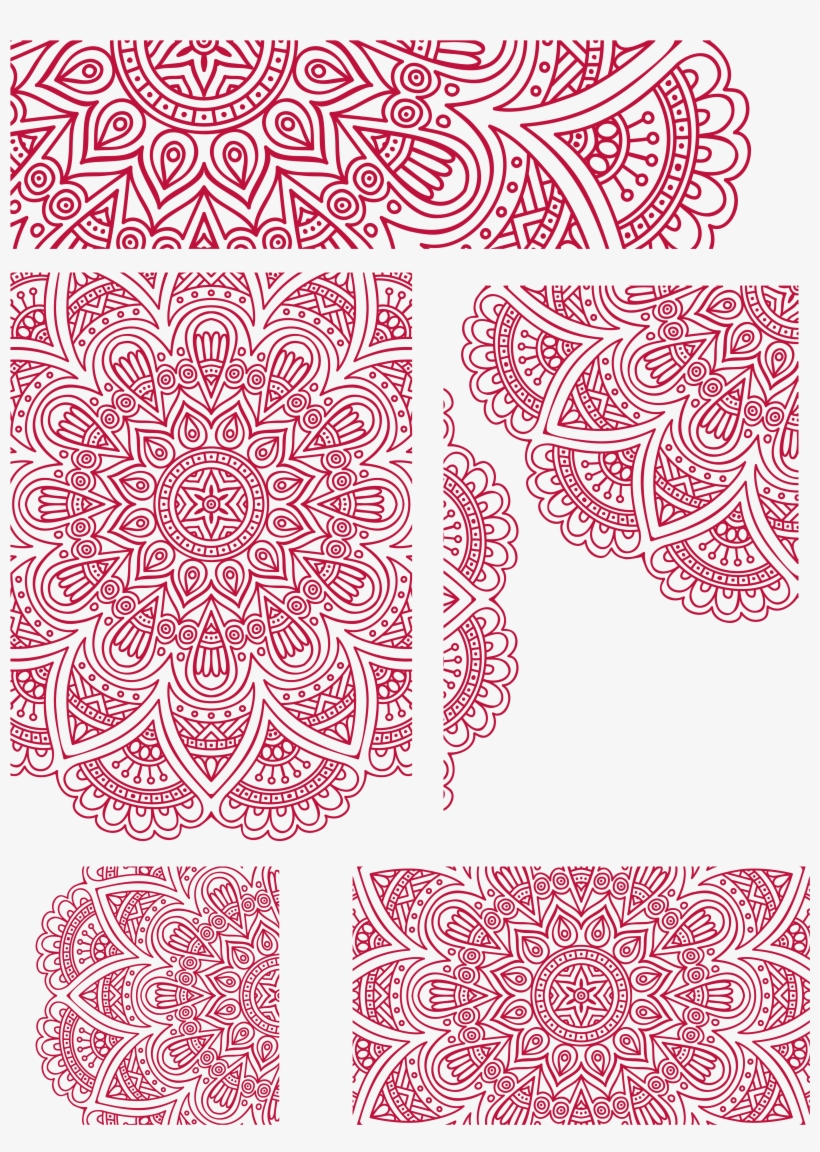 Image Royalty Free Stock Arch Vector Ornamented Indian - Design Wedding Card Unique Vector, transparent png #2446870
