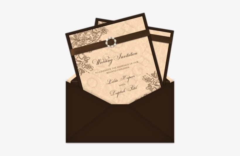 Wedding Invitation Symbols Png Letter Style Email Indian - Wedding Invitation, transparent png #2447051