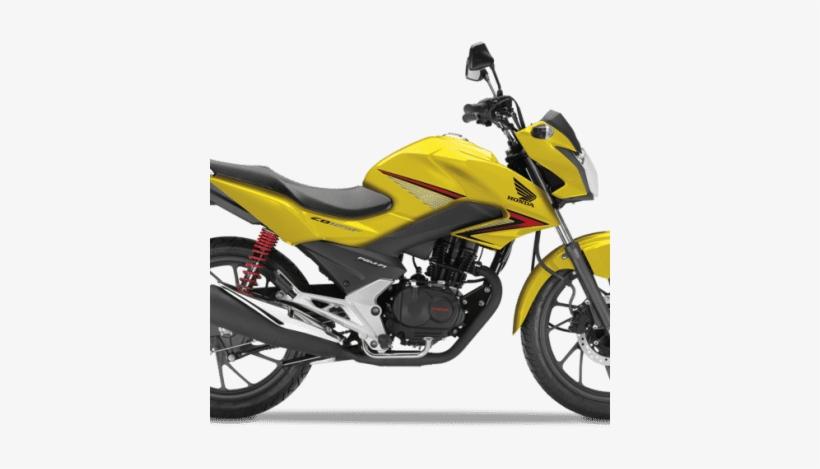 Honda Cb 125f Road Bike Pearl Twinkle Yellow - Honda Cb 125, transparent png #2447772