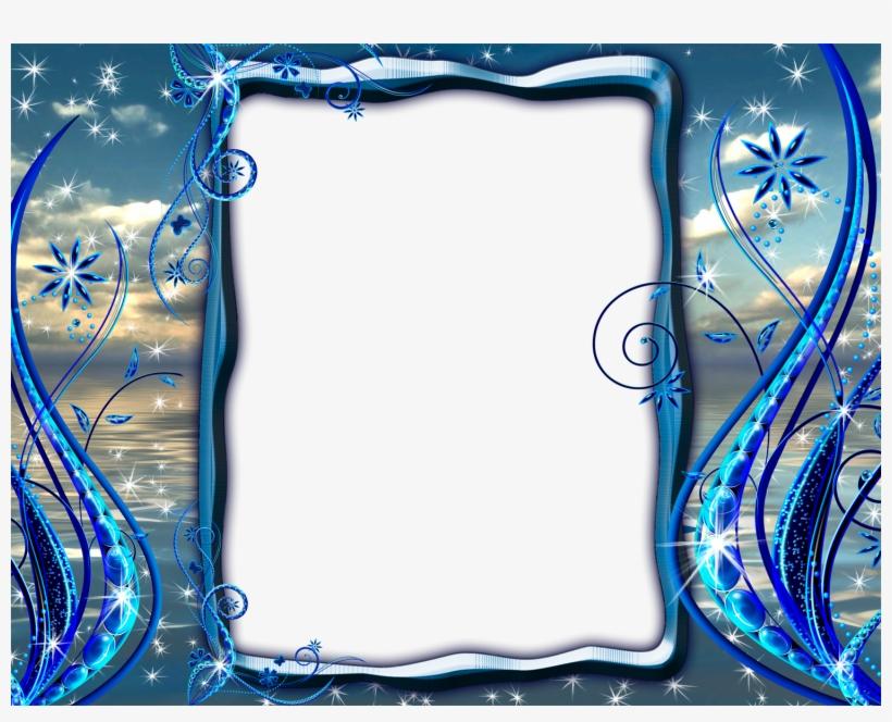 Cadre Bleu, transparent png #2448022