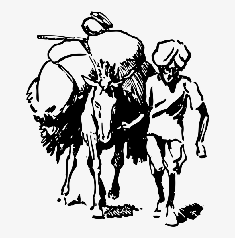 Farmer India Agriculture Drawing Free Commercial Clipart