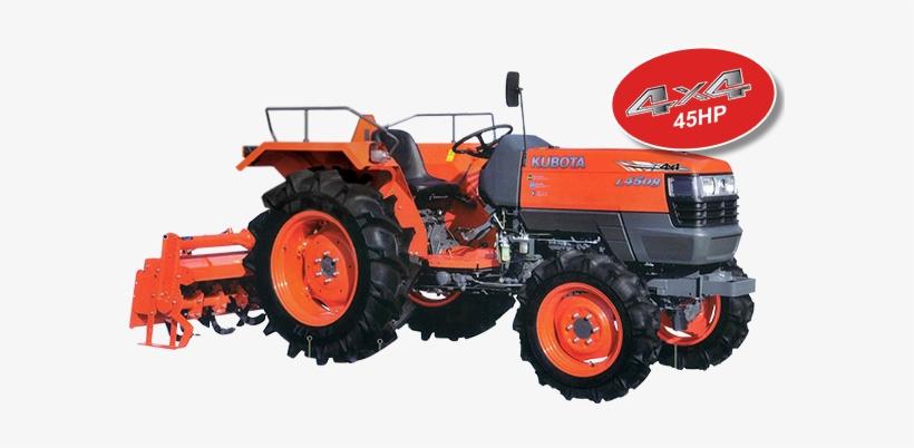 Large Fuel Tank - Kubota Tractor 45 Hp Price In India - Free