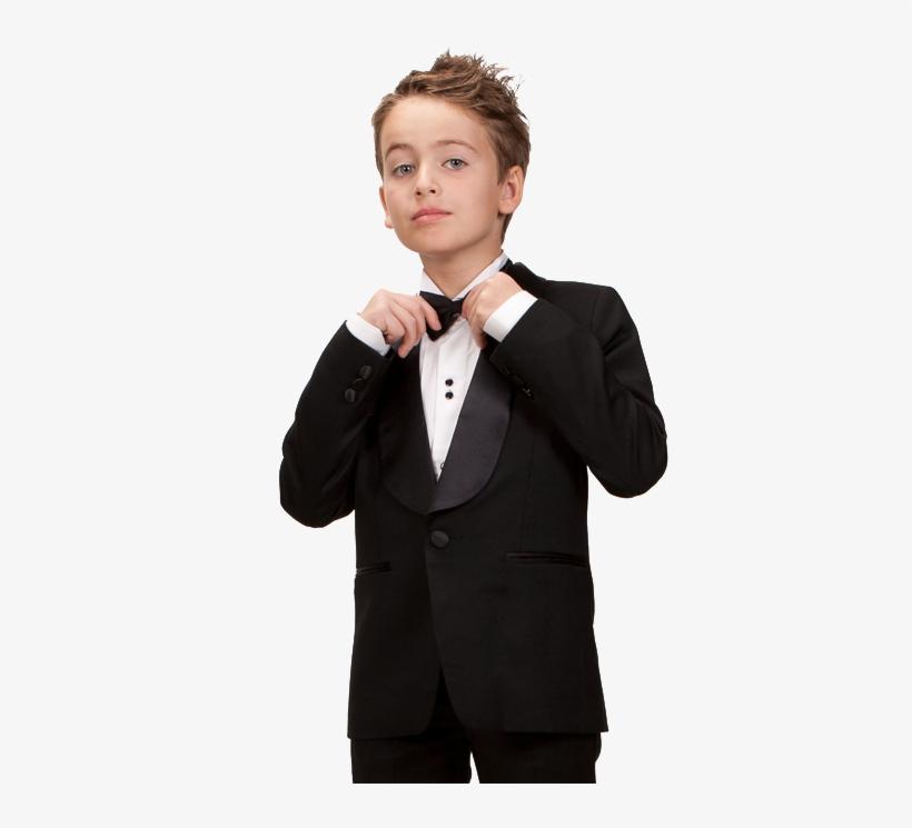 Fleurisse And Leon, Fine Clothiers Of Children's Formal - Kid Tuxedo Png, transparent png #2450749