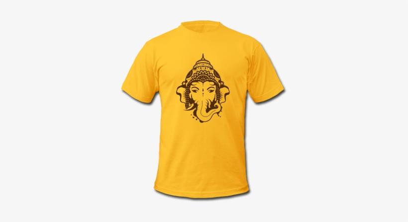 Ganesh T Shirts Printing - Happy Birthday T Shirt Design, transparent png #2451282
