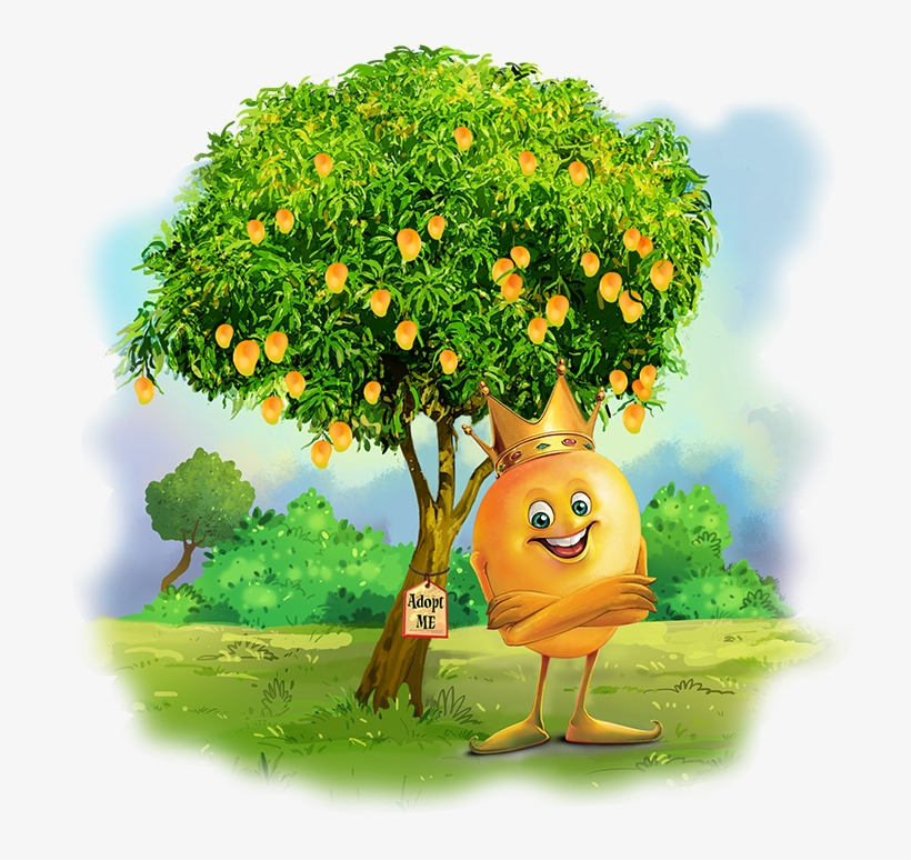 Why Hafoos Mango - Png Mango Clipart Cartoon Mango Tree ...
