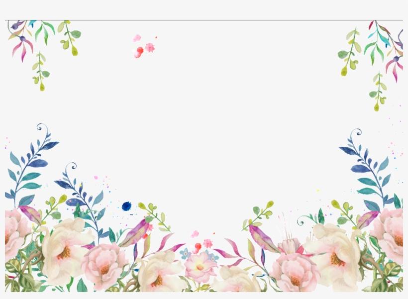 Colorful Flower Jungle Transparent Decorative - Shutterstock