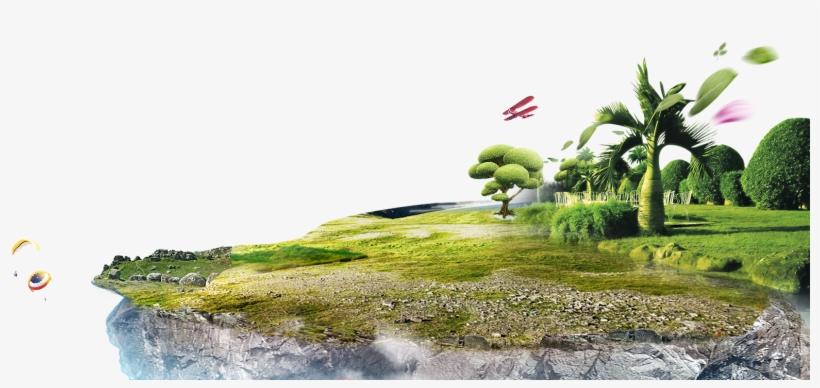 Garden Background Png - Poster, transparent png #2454213