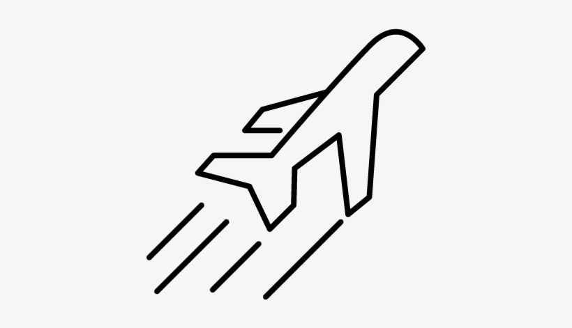 Airplane Side View In Flight Vector Airplane Free Transparent