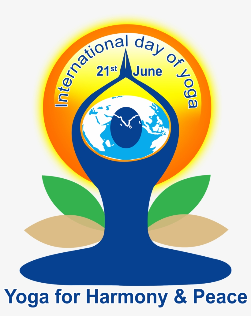Yoga Day Hd Logo Free Downloads In Ping International Yoga Day 2018 Free Transparent Png Download Pngkey