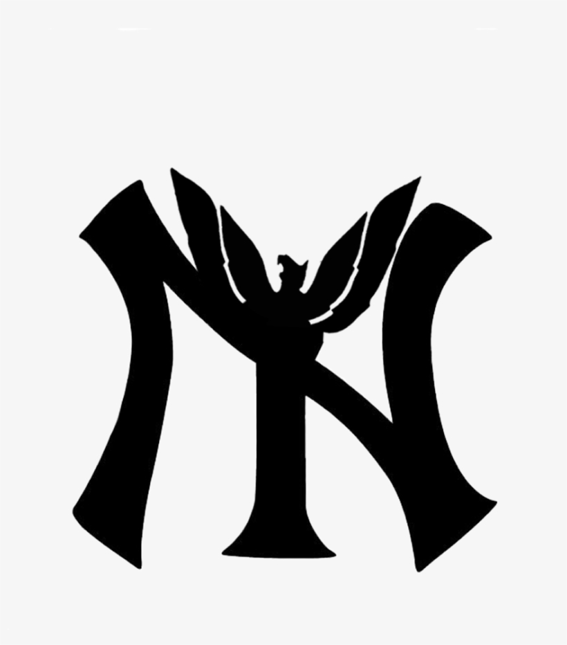 Ny Is Variance Of The New York Yankees Logo But With - New York Yankees, transparent png #2457657