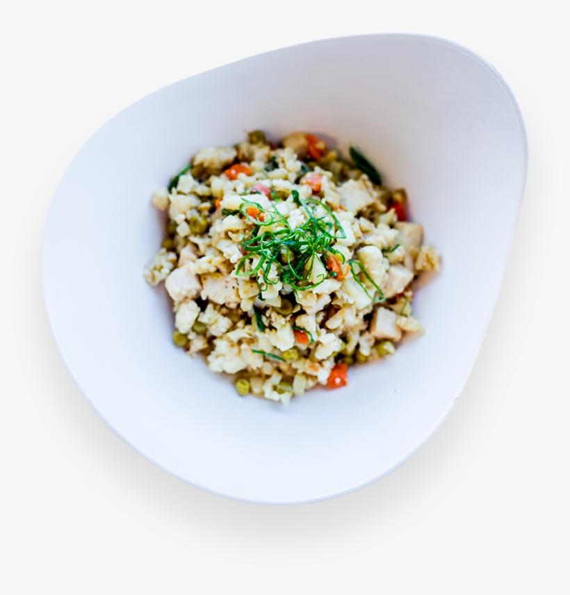 Cauliflower Rice W/ Chicken & Egg Whites - Thai Fried Rice, transparent png #2457975