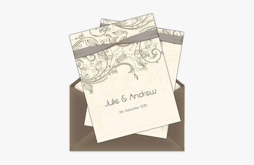 Letter Style Email Wedding Invitation Design Aa Vv Suoni Cd