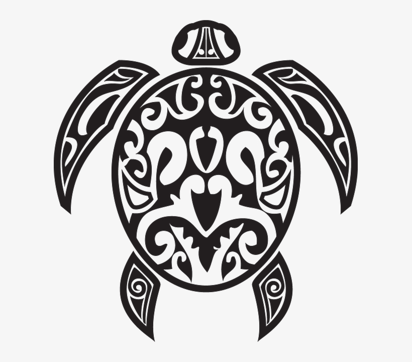 Totem Drawing Turtle - Native American Turtle Vector, transparent png #2463770