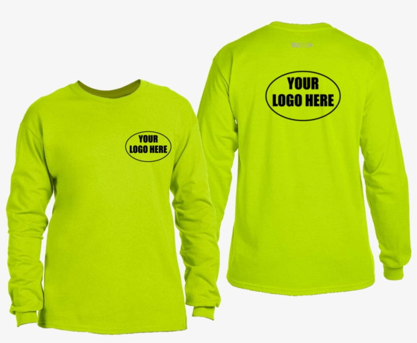 Long Sleeve With Your Logo Here, transparent png #2467686