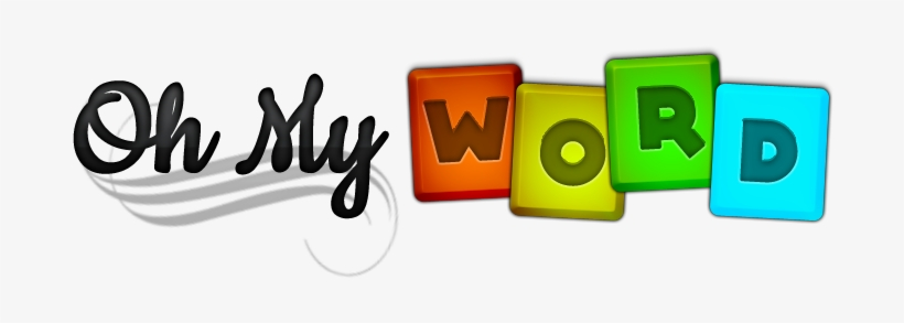 Oh My Word Is An Entertaining Word Puzzle Game - My Word Clip Art, transparent png #2467955